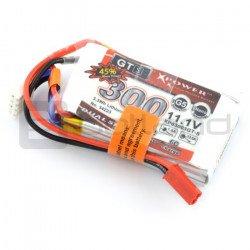 LiPol Dualsky 300mAh 45C 3S 11,1V