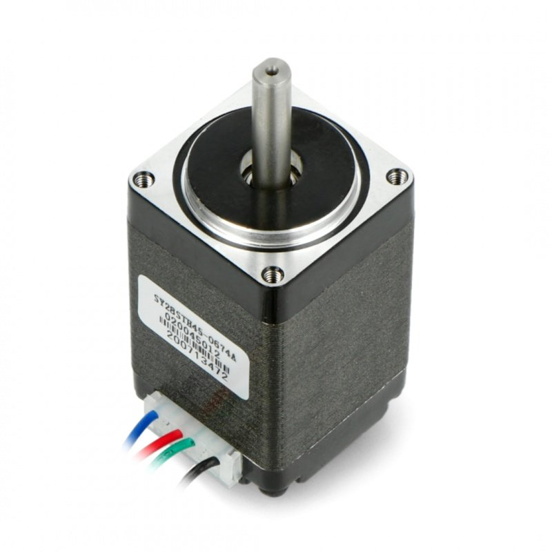 Krokový motor SY28STH45-0674A 200 kroků / ot. 4,5 V / 0,67 A /