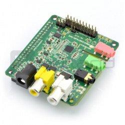 Wolfson Cirrus Logic Audio Card - zvuková karta pro Raspberry Pi +