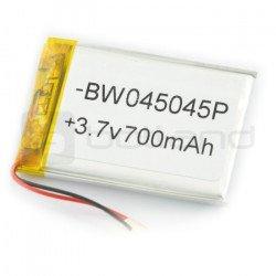 Li-Poly 700 mAh 3.7V 3.9Wh baterie