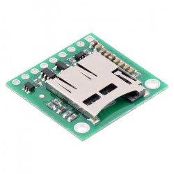 Modul čtečky karet micro SD s převodníkem napětí - Pololu