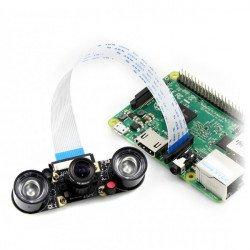 Camera HD Night Vision H - širokoúhlá IR kamera pro IR moduly Raspberry Pi +