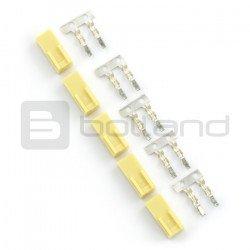 Typ konektoru xxx - zásuvka 2x1 + piny - 5 ks