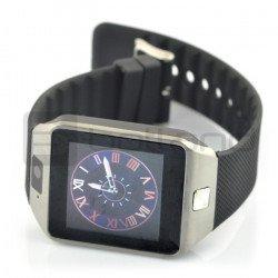 SmartWatch DZ09 SIM - chytré hodinky s funkcí telefonu