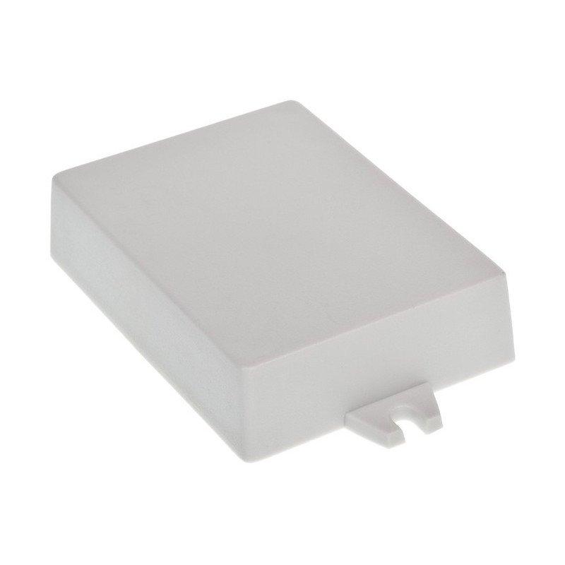 Plastové pouzdro Kradex Z53JU - světlo 90x65x22mm s ušima
