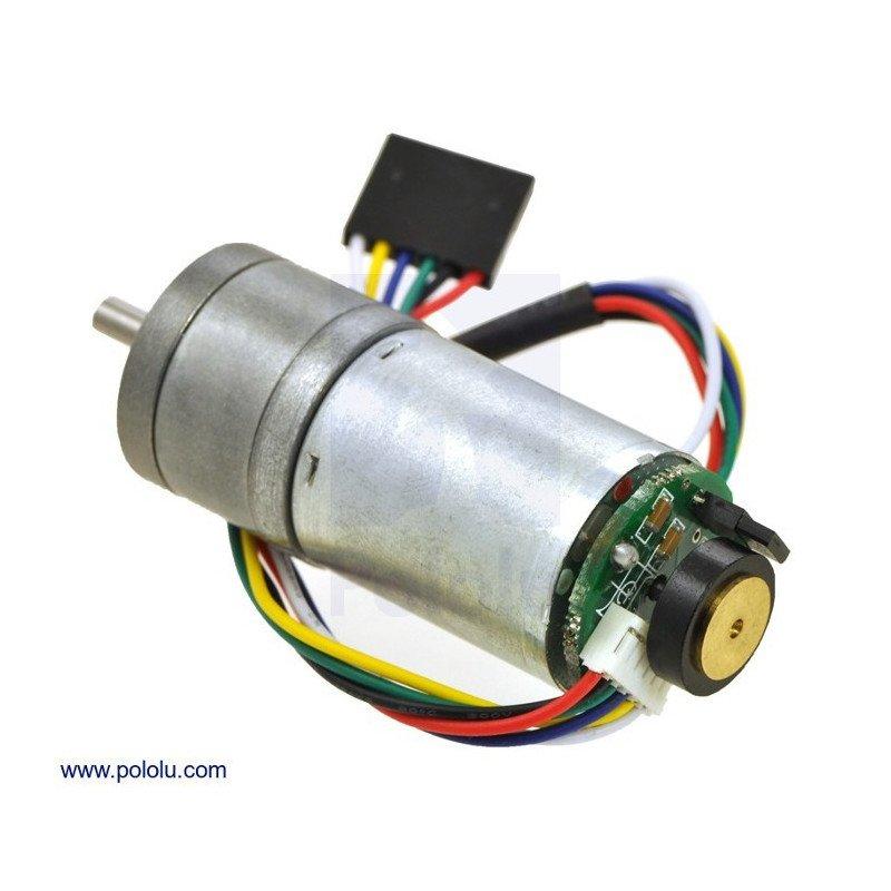 Převodový motor HP 99: 1 25Dx54L mm + kodér CPR 48