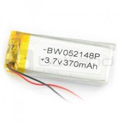 Li-Pol 370mAh 3,7V baterie