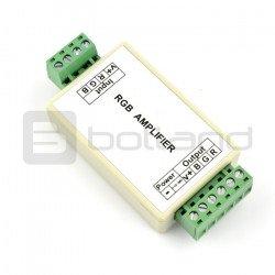 RGB zesilovač pro LED pásky - 4A