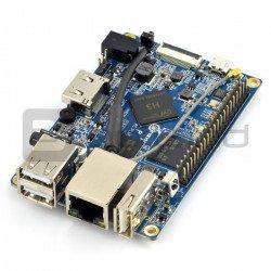 Orange Pi PC Plus - Alwinner H3 Quad-Core 1 GB RAM + 8 GB EMMC