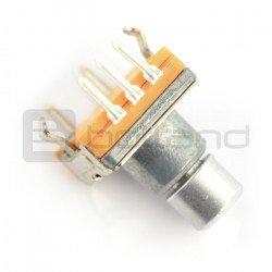 Kodér s tlačítkem 30 pulzů 10 mm - EC20 svisle