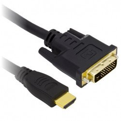 Kabel HDMI - DVI-D - dlouhý 1,8 m