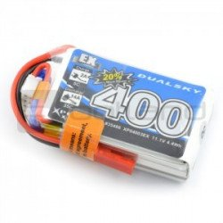 LiPol Dualsky 400mAh 35C 3S 11,1V