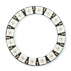 RGB LED prsten WS2812 5050 x 16 LED - 44 mm