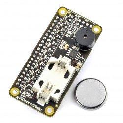 Pi Clock PCF8563 - hodiny reálného času RTC + bzučák + baterie pro Raspberry Pi 3/2 / B +
