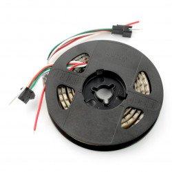 RGBW LED pás SK6812 - digitální, adresovaný - IP65 144 LED / m, 43,2 W / m, 5V - 1m