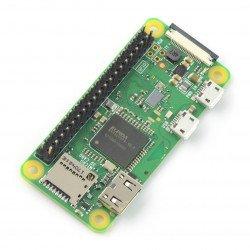 Raspberry Pi Zero W - WiFi Bluetooth 512 MB RAM 1 GHz