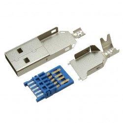 Zástrčka USB 3.0 typu A - pro kabel