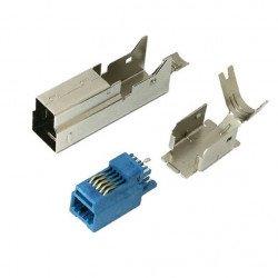 USB 3.0 typu B zástrčka - pro kabel