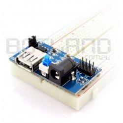 Napájecí modul pro kontaktní desky A10010 - 3,3 V 5 V.