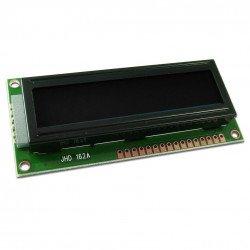 LCD displej 2x16 znaků černobílý