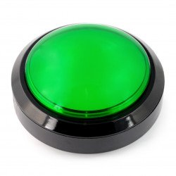 Velké tlačítko - zelené (verze eco2)