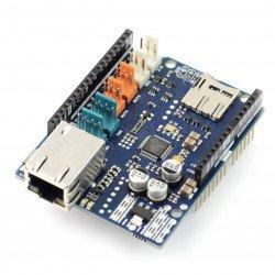 Arduino Ethernet Shield 2 se čtečkou karet microSD