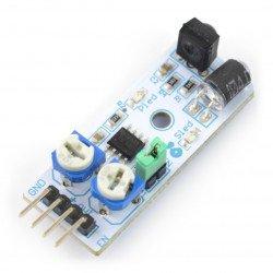 Senzor vzdálenosti, reflexní Velleman VMA330 - 3,3 V / 5 V - 40 cm