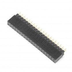 Zásuvka 2x20, rastr 2,54 mm pro Raspberry Pi