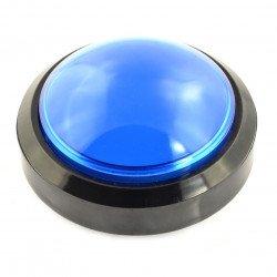 Velké tlačítko 10 cm - modré (verze eco2)