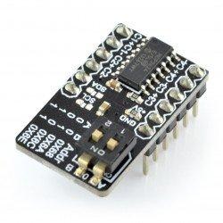 MCP3424 - ADC 18bitový 4kanálový převodník I2C
