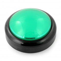 Velké tlačítko 10 cm - zelené - SparkFun COM-11275