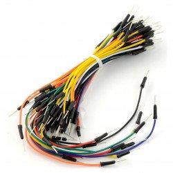 Propojovací kabely samec-samec - 65 ks.
