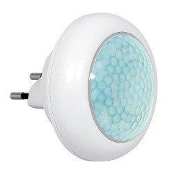 Eura-tech Eura ML-08A8 - LED noční lampa s čidlem pohybu a soumraku 230V