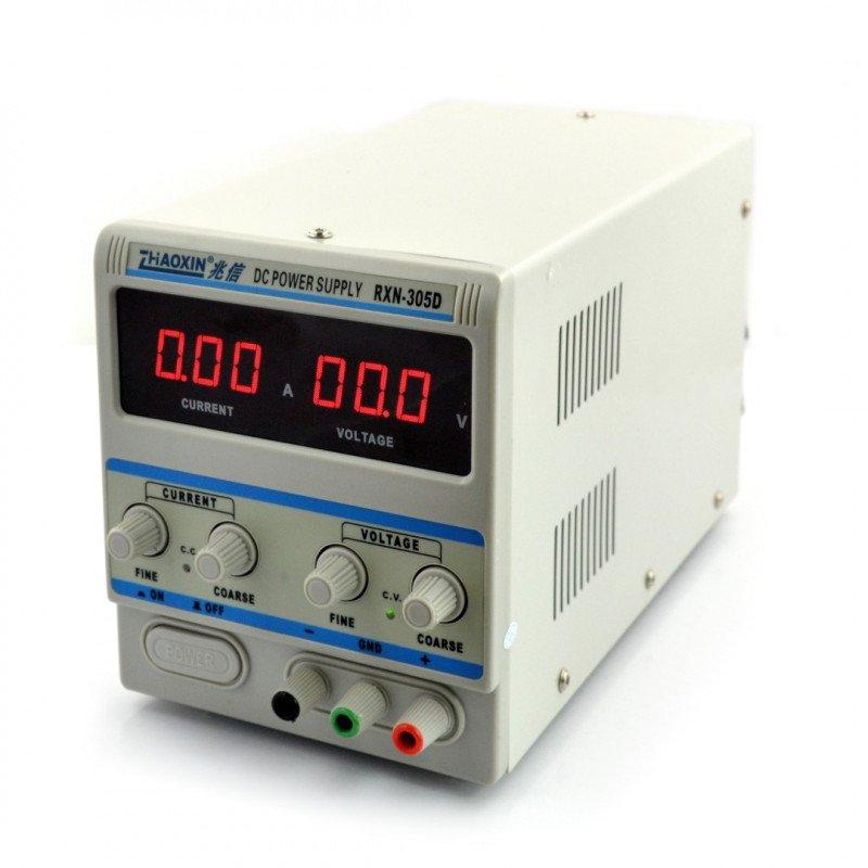 Laboratorní napájecí zdroj Zhaoxin RXN-305D 30V 5A