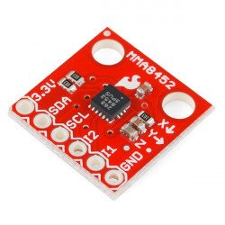 MMA8452Q 3osý digitální akcelerometr I2C modul - SparkFun