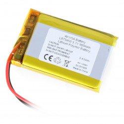 Baterie Akyga 980mAh 1S 3,7 V Li-Pol - konektor JST-BEC + zásuvka