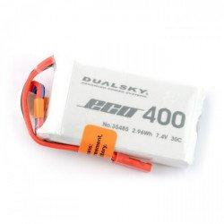 LiPol Dualsky 400mAh 35C 2S 7,4V balení