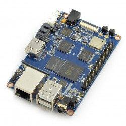 Banana Pi M2 Ultra 2 GB RAM + 8 GB EMMC čtyřjádrový WiFi, BT 4.0