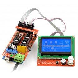 Chytrý ovladač Reprap 3D Ramps 1.4 LCD 12864