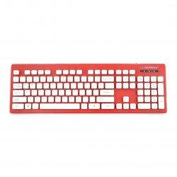 Singapurská vodotěsná klávesnice Esperanza USB - červená