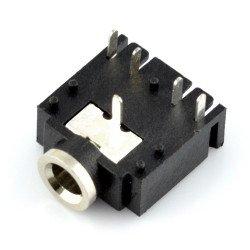 Jack 3,5 mm stereofonní zásuvka - JY039-5P