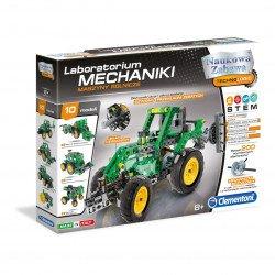 Stavebnice Laboratoř mechaniky - Zemědělské stroje - Clementoni 60591