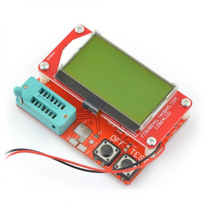Testovací sada, zkoušečka elektronických součástek - BTE-057