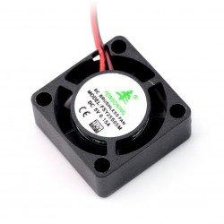Ventilátor 5V 25x25x10mm 2 vodiče
