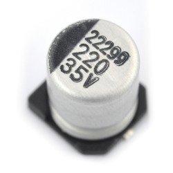 220uF / 35V SMD elektrolytický kondenzátor