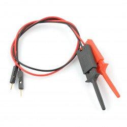 Sada kabelů zástrčka s háčky - 2 ks.