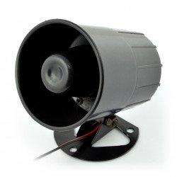 Siréna alarmu S3 - 6-14V, 112dB, 6 tónů