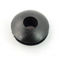 Kulatá gumová průchodka 3mm - 10ks.