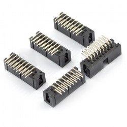 IDC zástrčka 16 pin úhlová - 5 ks