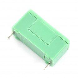 Pojistkový konektor s krytem PTF-78 5x20mm - zelený